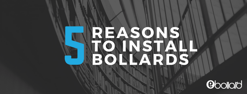5 Reasons to Install Sidewalk and Storefront Bollards[Infographic]